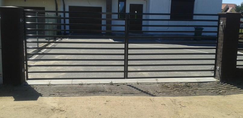 Brama dwuskrzydłowa 2