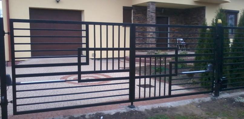 Brama dwuskrzydłowa 1