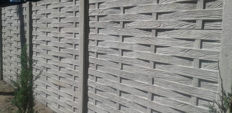 Ogrodzenie betonowe 6