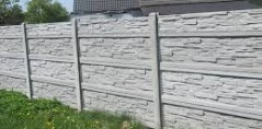 Ogrodzenie betonowe 7