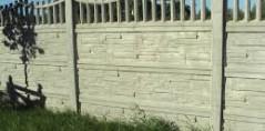 Ogrodzenie betonowe 8