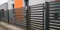 Ogrodzenie metalowe 3