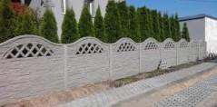 Ogrodzenie betonowe 10