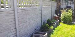 Ogrodzenie betonowe 11
