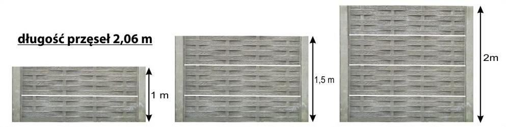 Betonowy wymiary ostatni